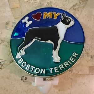 Boston Terrier Nightlight